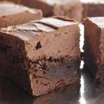 Пирожные «Брауни» с кофейным кремом