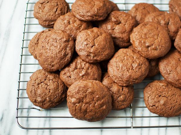 Фото Шоколадное печенье из теста для брауни