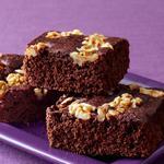 Шоколадное пирожное «Брауни» с цельнозерновой мукой