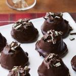 Шоколадно-мятные трюфели «Брауни»