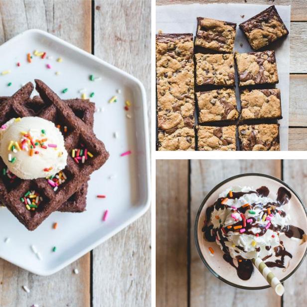 Фото 5 вариантов десертов, которые можно приготовить из смеси для брауни