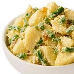 Картофельный салат со стручковой фасолью и карри