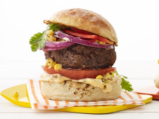 Гамбургер по-мексикански с чипотле и кукурузой (№32)