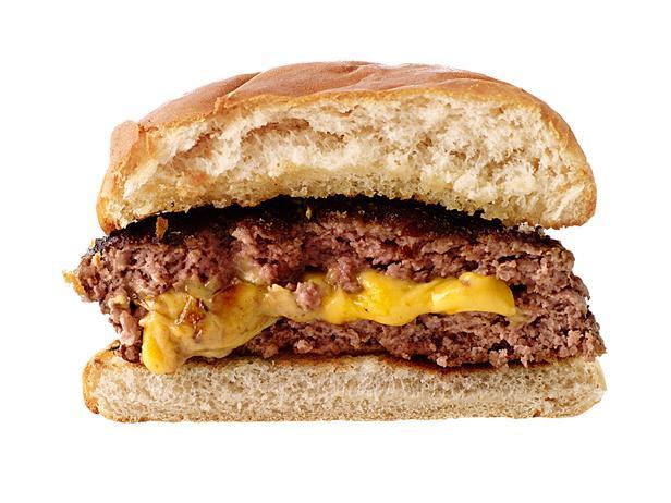 Гамбургер «Джуси Люси» с сыром (№8)