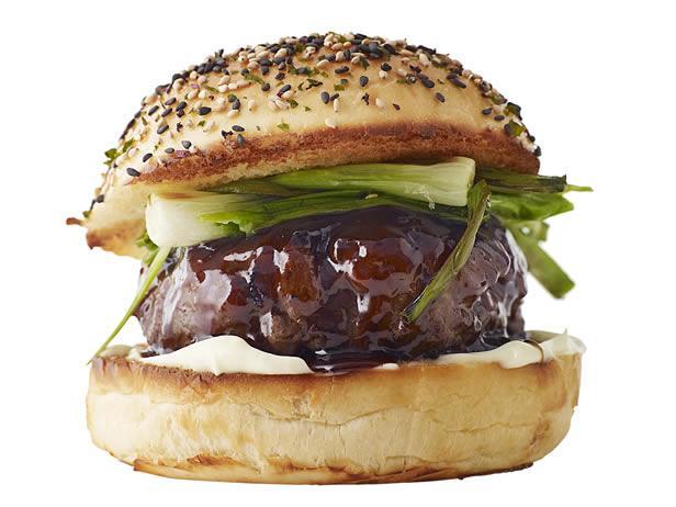 Гамбургер с соусом хойсин (№23)