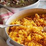 Рис с черной фасолью по-карибски
