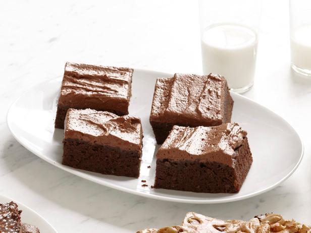 Брауни с шоколадным кремом (№7)