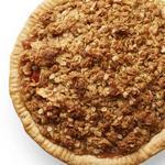 Пирог крамбл с грушами и яблоками