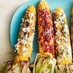 Кукуруза на гриле, три варианта подачи
