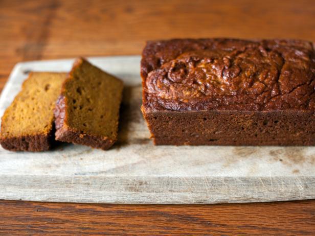 Фото Безглютеновый тыквенный хлеб