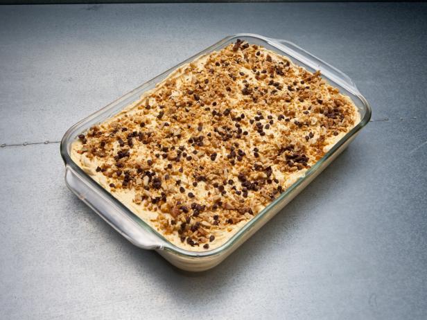 Фото Тыквенный торт мороженое с имбирным печеньем