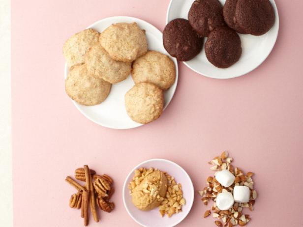 Фото Веганское печенье с шоколадом
