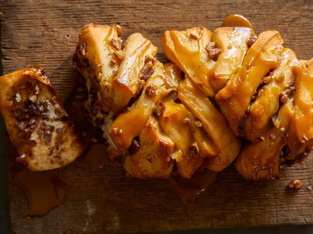 Фото Орехово-тыквенный хлеб гармошкой