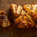 Орехово-тыквенный хлеб гармошкой