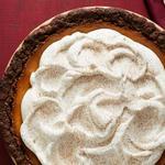 Тыквенный пирог с имбирным коржом