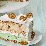 Торт-мороженое с кренделем «Претцель»