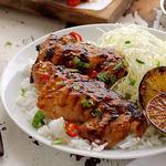 Курица-гриль с розмарином и горчицей