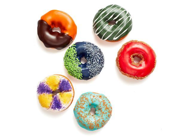 Фото Идеи для украшения пончиков