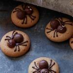 Жуткие печенья-пауки с арахисовым маслом