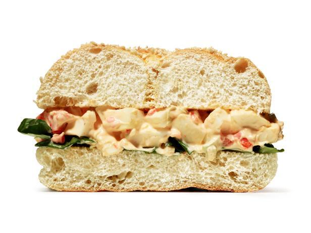 Сэндвич с яйцами по-испански (№ 17)