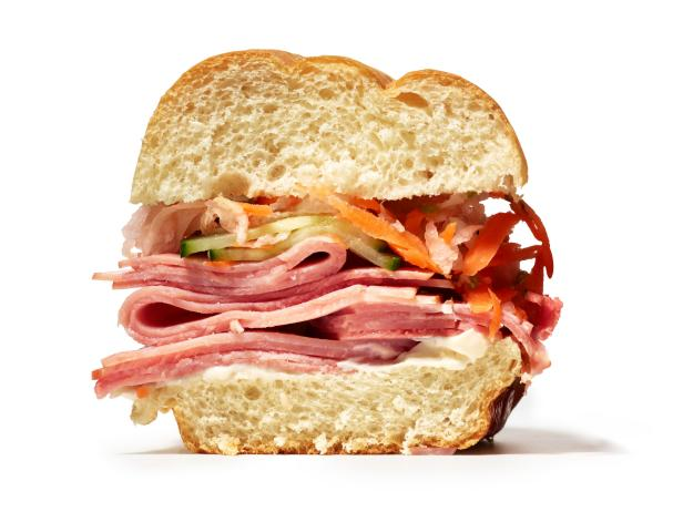 Сэндвич с ветчиной и салатом Бан Ми по-вьетнамски (№ 31)