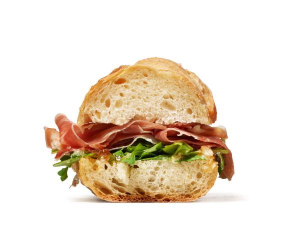 Сэндвич с прошутто, сливочным маслом и инжиром (№ 23)