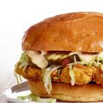 Фото Сэндвич с хрустящей свининой