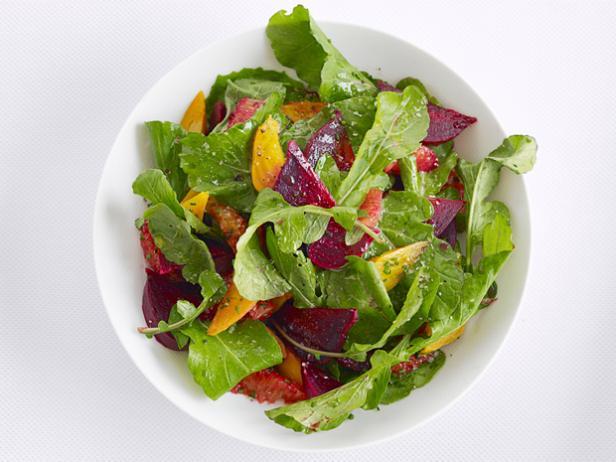 Фото Апельсиново-свекольный салат