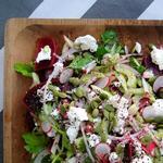 Салат со свеклой и сельдереем
