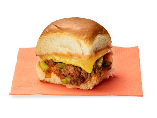 Фото Мини чизбургер «Неряха Джо»