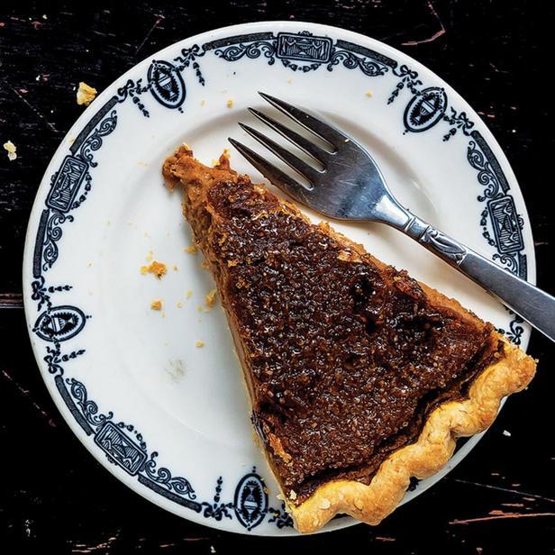 Карамелизированный тыквенный пирог