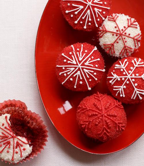 Фото Свекольные кексы со сладким йогуртом
