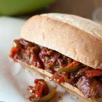 Фото Сэндвич Джамбалайя со свининой