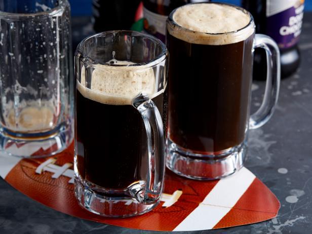Фото Шоколадно-малиновое пиво