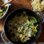 Итальянский хлебный суп с капустой и маслом шалфея от Джейми Оливера