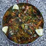 Паэлья с морепродуктами от Джейми Оливера