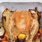 Идеальная жареная курица от Джейми Оливера