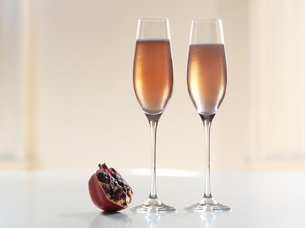 Фото Коктейль «Шампанское с гранатовым соком»