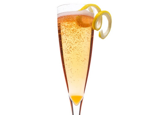 Аперол Спритц- коктейль с шампанским и биттером