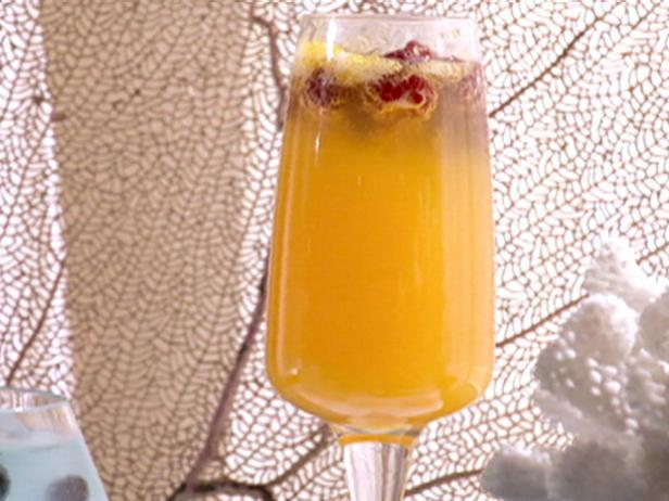 Фото Мандариновое шампанское