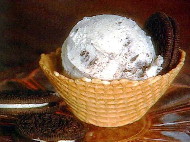 Фото Домашнее мороженое с печеньем орео без мороженицы