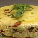 Домашний сыр с травами