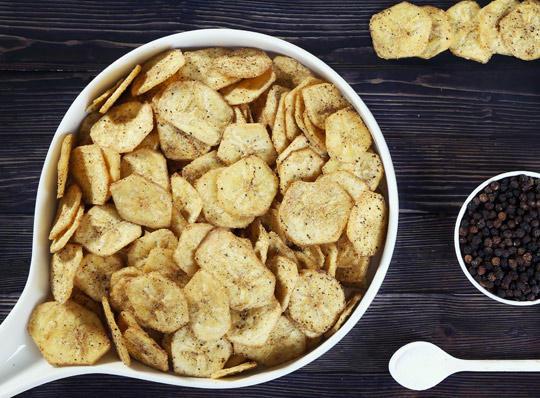 Фото Чипсы из картофеля в домашних условиях