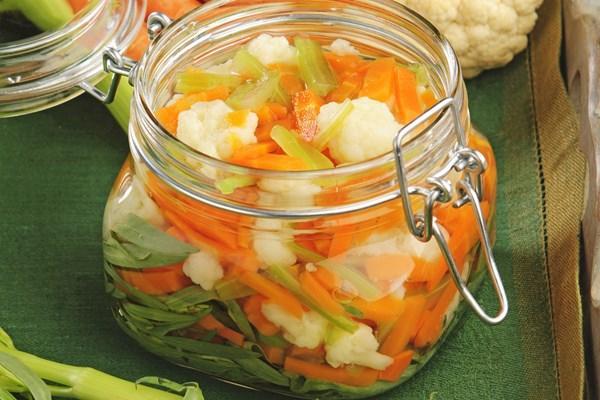 Фото Маринованные овощи «Жардиньера» в домашних условиях