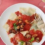 Равиоли с грибами и шпинатом - блюдо для влюбленных