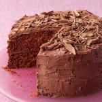 Шоколадный торт на День святого Валентина