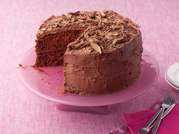 Фото Шоколадный торт на День святого Валентина