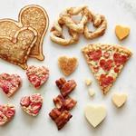 Блюда в форме сердца ко Дню святого Валентина