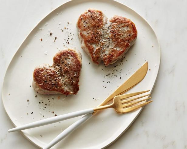 «Сердечки» из свинины