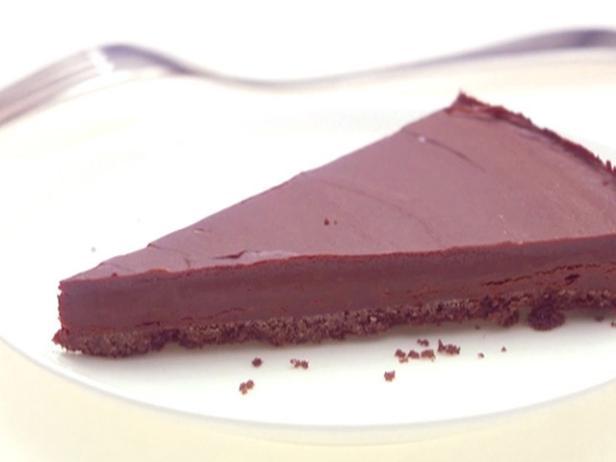 Фото Шоколадный тарт с миндалем и медом